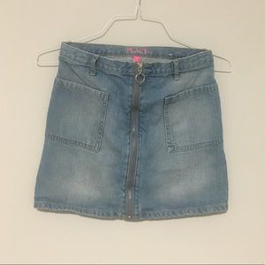 CHILDREN'S PLACE | denim skirt